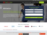 Get Targeted B2B Email List from Email Data Group