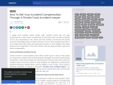How To Get Your Accident Compensation Through A Florida Truck Accident Lawyer