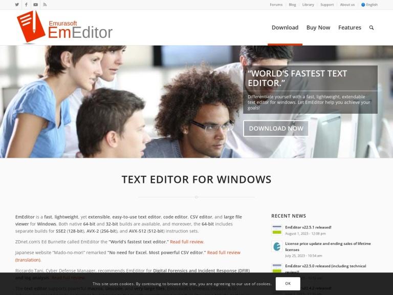 Emurasoft, Inc. screenshot
