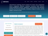 Interventional Cardiology Devices Market Share, Statistics, Size, Share, Regional Analysis