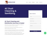 AC Duct Cleaning | Endeavor Cleaning Services