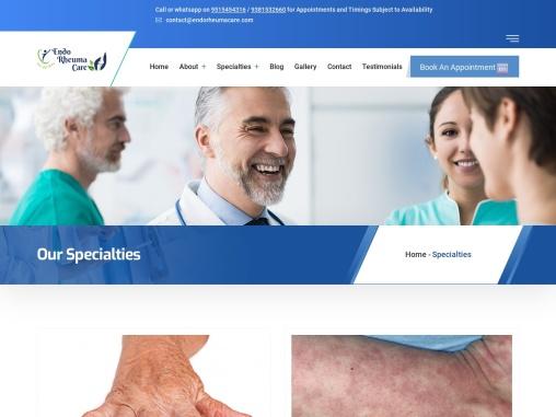 Best Rheumatology Clinics in Hyderabad – Dr. Dheeraj Kondagari