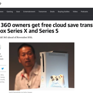 Xbox 360 owners get free cloud save transfers to Xbox Series X and Series S | Engadget