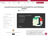 business whatsapp chatbot | Engati