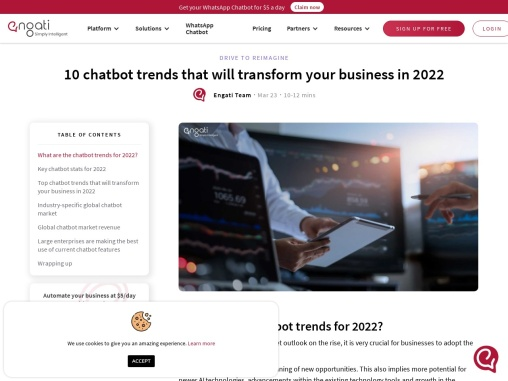 10 important chatbot industry trends for 2021