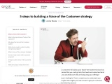 A complete guide to Voice of the Customer