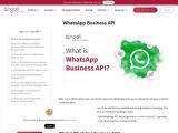 whatsapp business api | Engati