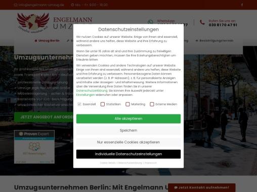 Umzug Berlin nur mit Engelmann
