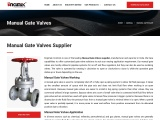 Manual Gate Valves – Manufacturer, Supplier & Exporter India