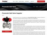 Pneumatic Ball Valve Supplier, Manufacturer & Exporter India