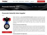 Pneumatic Butterfly Valve Supplier, Manufacturer & Exporter