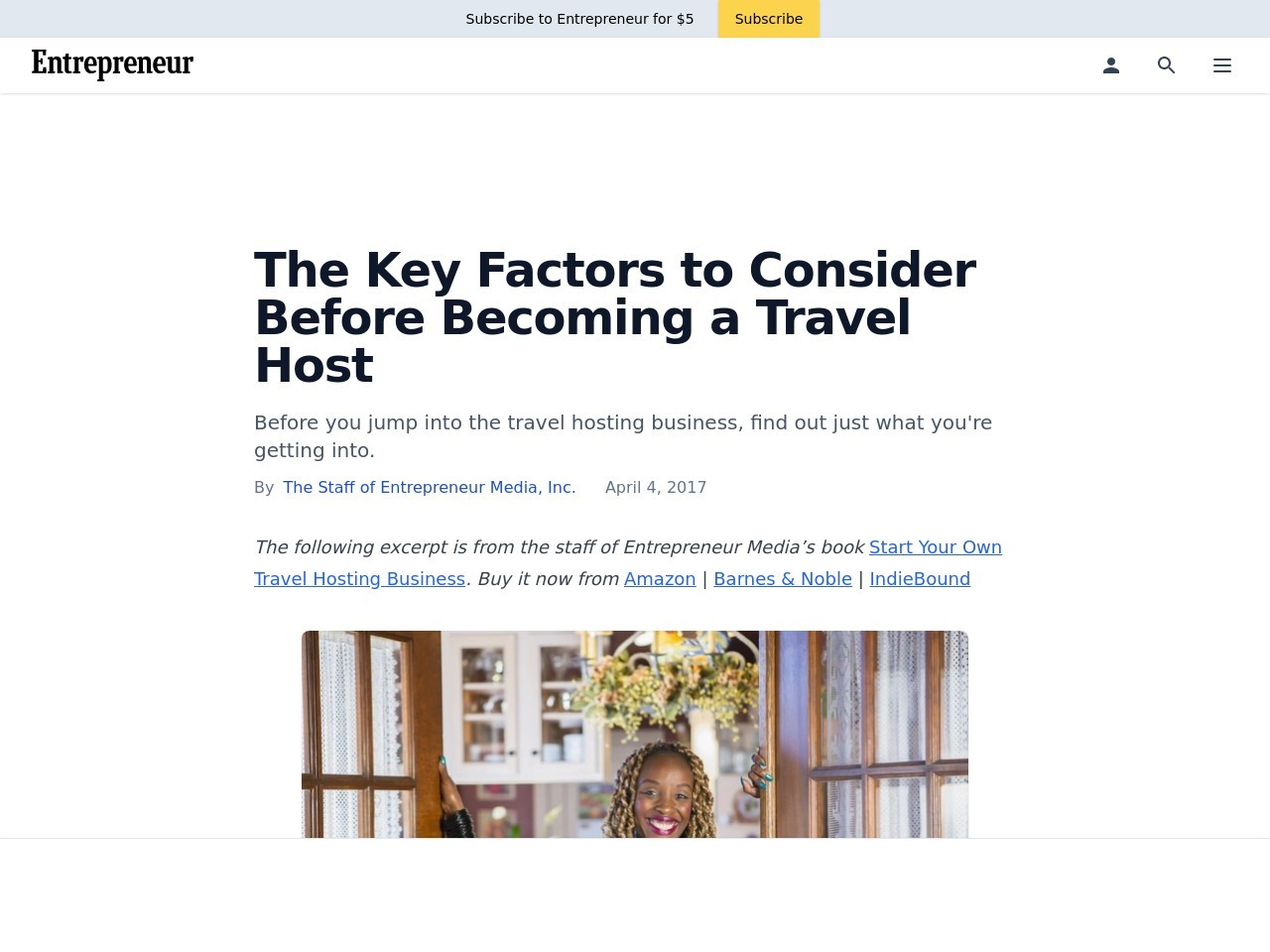 The Key Factors to Consider Before Becoming a Travel Host