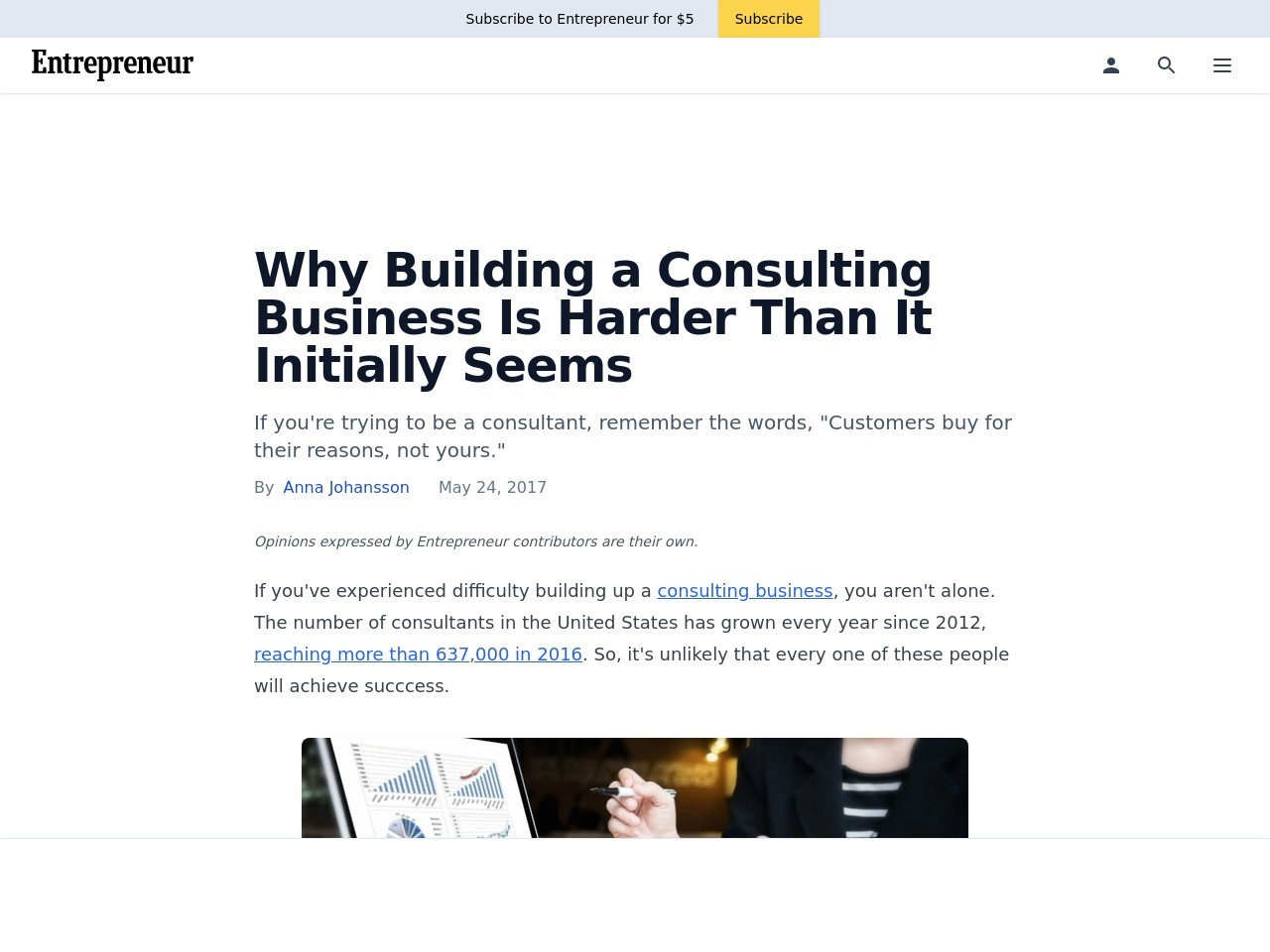Why Building a Consulting Business Is Harder Than It Initially Seems