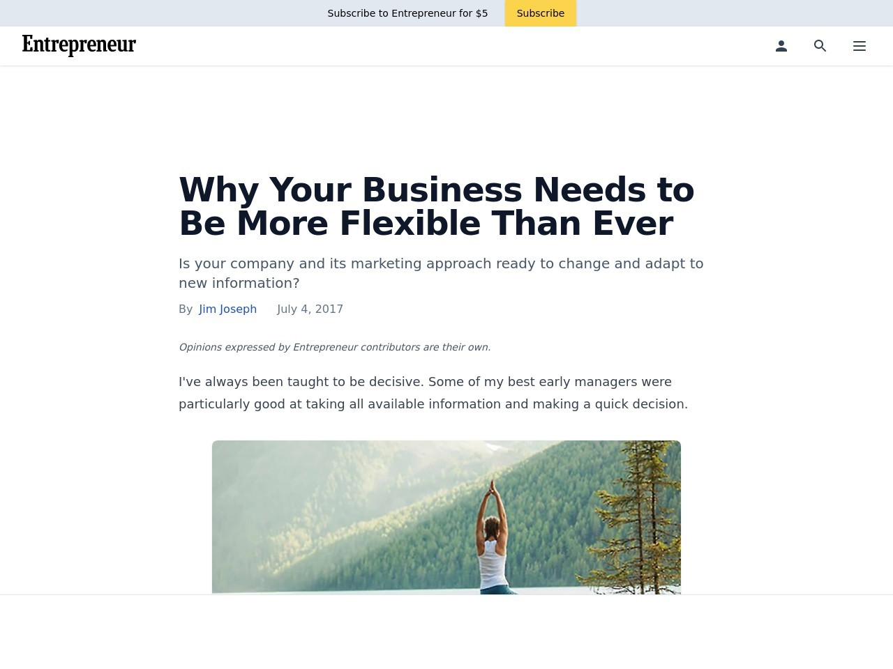 Why Your Business Needs to Be More Flexible Than Ever