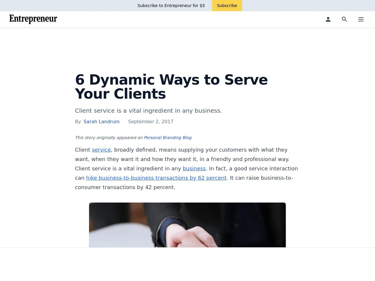 6 Dynamic Ways to Serve Your Clients
