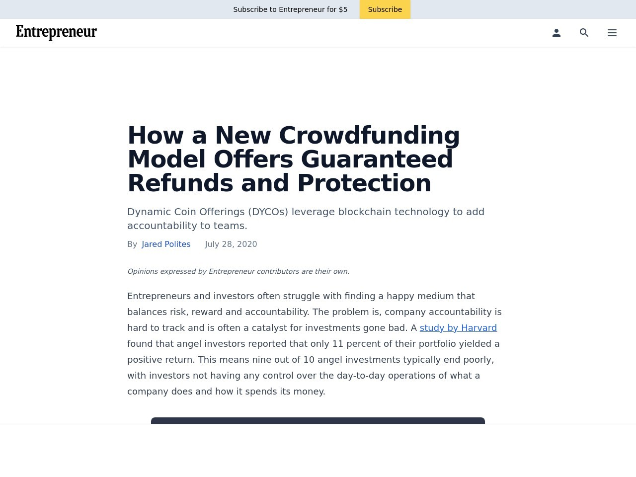 How a New Crowdfunding Model Offers Guaranteed Refunds and Protection