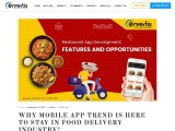 Food Delivery App Development Is The New Trend
