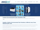 Temperature forcing system in US – Envisys Tech
