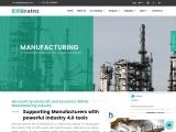 Manufacturing ERP Software – Microsoft Dynamics 365 ERBrains UAE