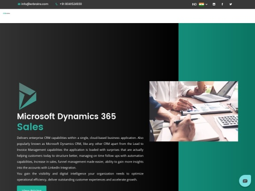 Microsoft Dynamics 365 Sales Implementation