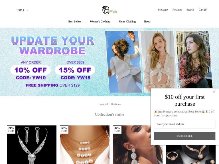 Ericdress Discount Codes screenshot