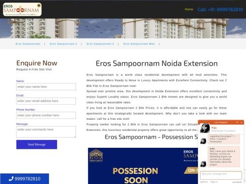 Eros Sampoornam – Eros Sampoornam Noida Extension-EROS Group