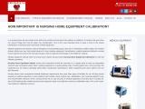 Nursing Home Equipment Calibration for safe practices