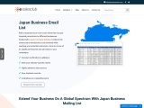 B2B japan business email leads providers