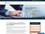 Malaysia Business Mailing List   Malaysian Email List   Contact Database