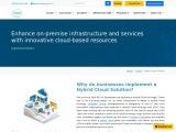 Hybrid Cloud Computing | Hybrid Cloud Hosting | ESDS