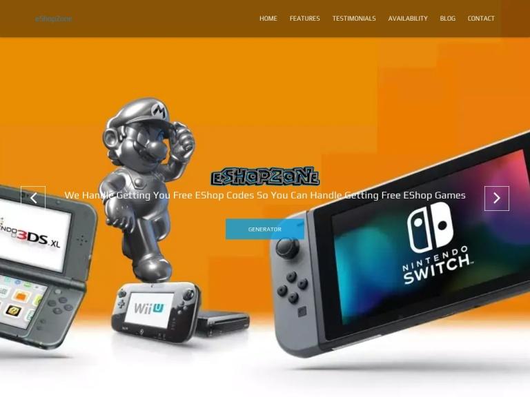 EShop Zone screenshot