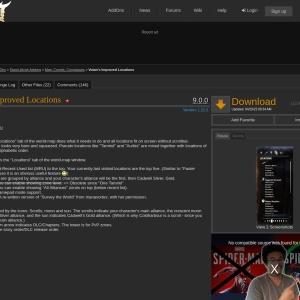 Votan's Improved Locations : Map, Coords, Compasses  : Elder Scrolls Online AddOns