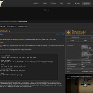 Binder (Updated) : Plug-Ins & Patches  : Elder Scrolls Online AddOns