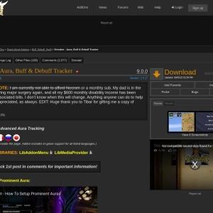 Srendarr - Aura, Buff & Debuff Tracker : Buff, Debuff, Spell  : Elder Scrolls Online AddOns