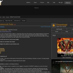 Wykkyd Framework Suite : Libraries  : Elder Scrolls Online AddOns