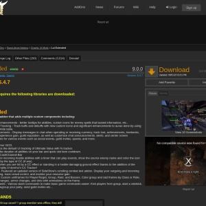 Lui Extended : Graphic UI Mods  : Elder Scrolls Online AddOns
