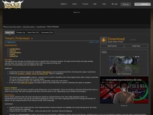 Votan's Fisherman : TradeSkill Mods  : Elder Scrolls Online AddOns