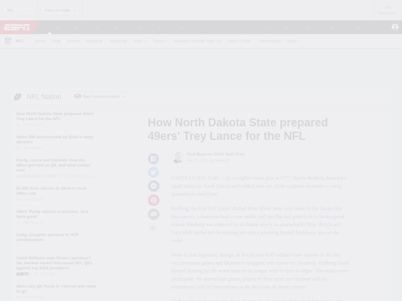 How North Dakota State prepared  Trey Lance for the NFL