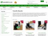 Transfer Boards, Slide/Banana Board Transfer, Patient Transfer Board