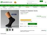 Protect iT Diabetic Socks for Elderly People