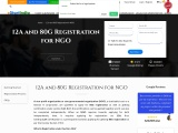 12A and 80G Registration for NGO