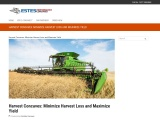 Harvest Concaves: Minimize Harvest Loss and Maximize Yield