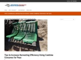 Tips to Increase Harvesting Efficiency Using Combine Concaves for Peas