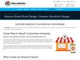Amazon Brand Store Design Australia