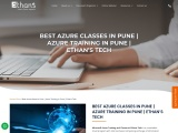 Microsoft Azure Training in Pune | Best Azure classes in Pune by Ethans Tech
