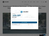 Boat Excess Moisture Removal: 3 Tips to Keep Moisture Out   Eva-Dry
