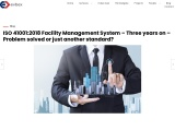 ISO 41001 for Facility Management