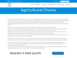 Agricultural Chains Manufacturer