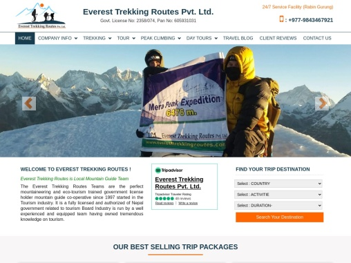 Everest Trekking Packages in Nepal