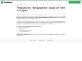 Product Shoot Photographers | Studio On Rent In Gurgaon